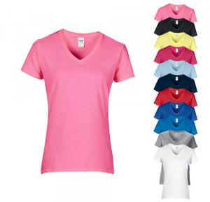 Gildan Premium Cotton® Ladies` V-Neck T-Shirt