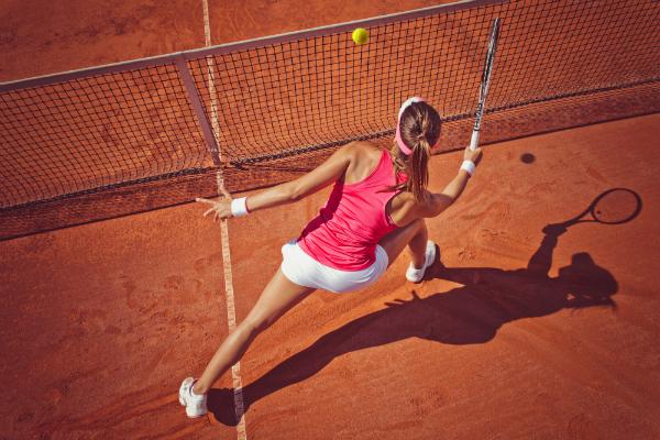 Tennis im Sommer