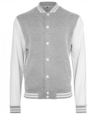 build-your-brand-sweat-college-jacket-heather-grey-white