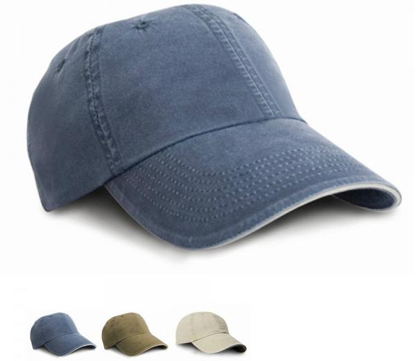 result-headwear-washed-sandwich-peak-cap