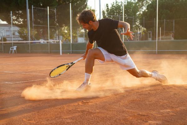 Professioneller Tennisspieler