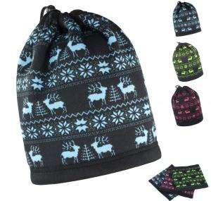 Result Winter Essentials Reindeer Snood Hat