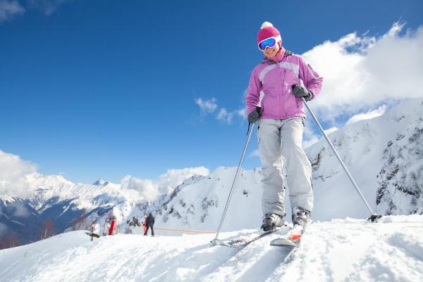 Wintersport benötigt spezielle Schutzkleidung
