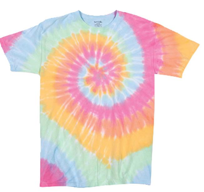 Dyenomite Multi-Color Spirals T-Shirt