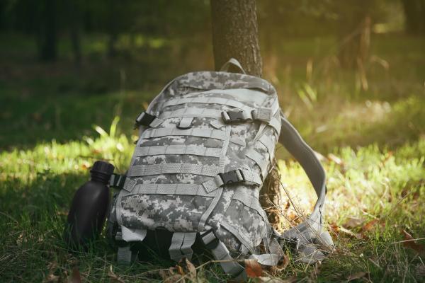 Militaerischer Camouflage Rucksack