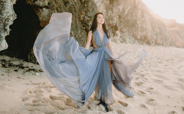 Puderblau: Die Farbe des Frühjahres
