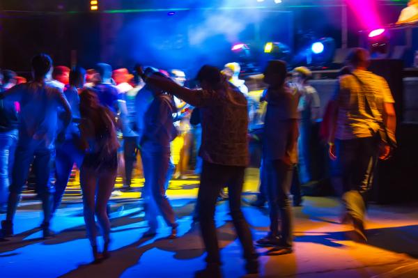 Tanzen in der Disco