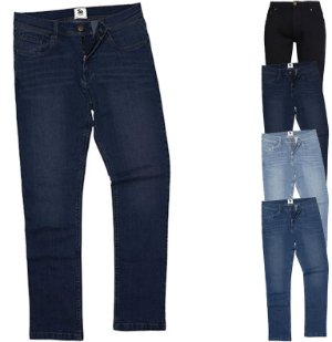 So Denim Men's Leo Straight Jeans