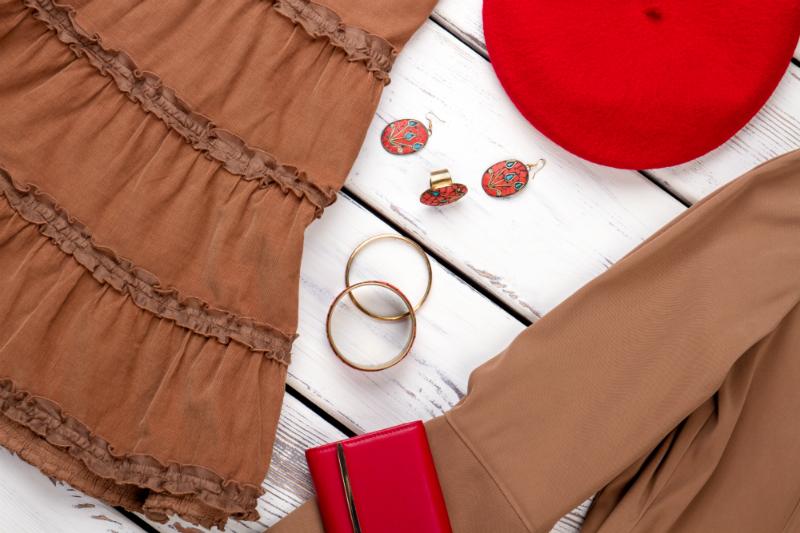 Rot Und Braun Kombinieren Textilwaren Magazin