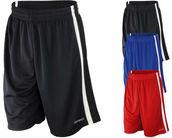 RT279 SPIRO Basketball Mens Quick Dry Short