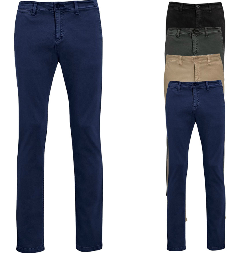SOL´S Mens Chino Trousers Jules