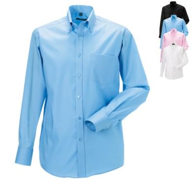 russell-collection-buegelfreies-langaermeliges-herrenhemd