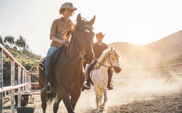 Unterwegs wie Cowboys und Cowgirls