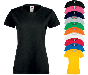 Fruit of the Loom Ladies' Sofspun T