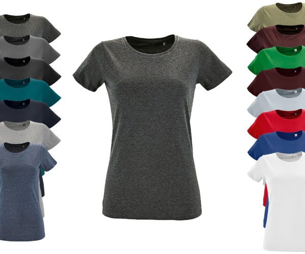 L02758 SOLS Womens Round Neck Fitted T-Shirt Regent