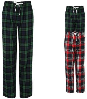 SF Women Womens Tartan Lounge Pants