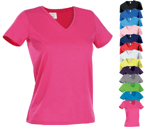 S279 Stedman® Classic-T V-Neck for women