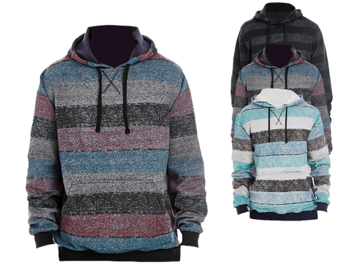 burnside-printed-striped-marl-pullover