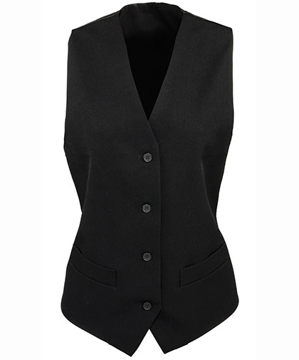 premier-workwear-ladies-lined-polyester-waistcoat