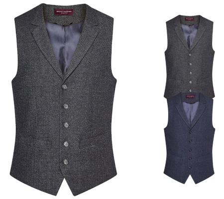 Anzugwesten für Herren mit Stil Textilwaren Magazin