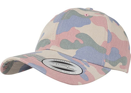 FLEXFIT Low Profile Cotton Camo Cap