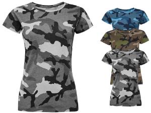 L134 SOL´S Womens Camo T-Shirt