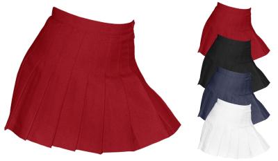 AM300W American Apparel Women`s Gabardine Tennis Skirt