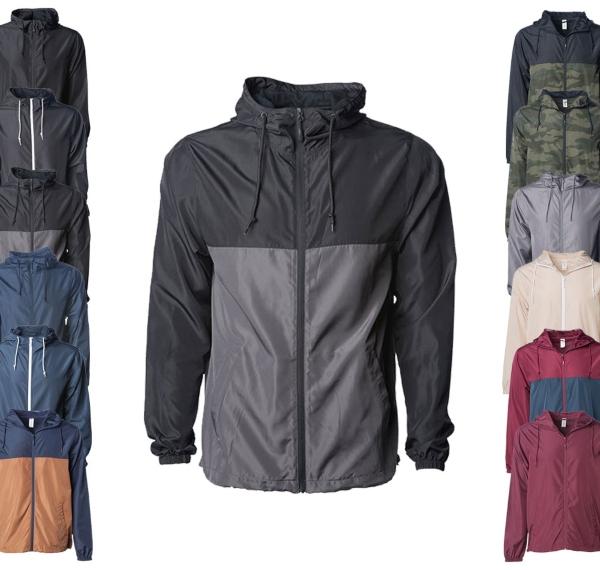 Independent Mens Lightweight Windbreaker Jacket