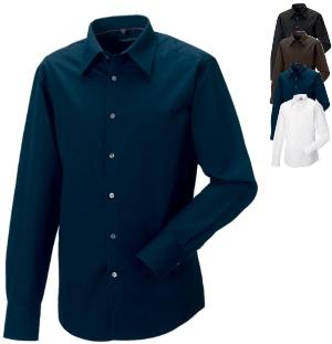 Körperbetontes langärmeliges Männer Hemd aus Tencel