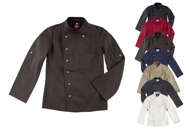 CGW3105 C.G. Workwear Chef´s Jacket Turin Lady Classic