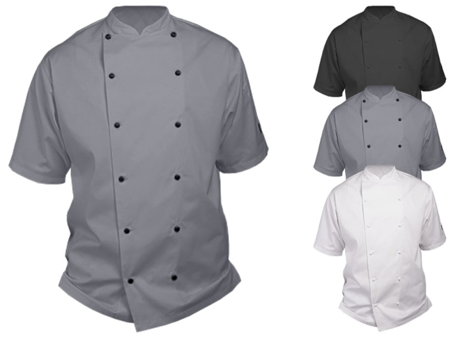 LF092S Le Chef Executive Jacket Short Sleeve
