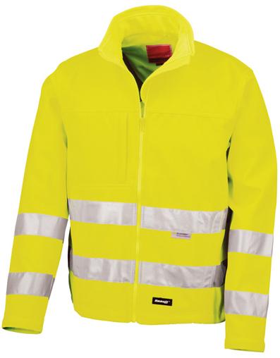 RT117 Result High-Vis Soft Shell Jacket - für eine sichere Arbeitskleidung im Winter