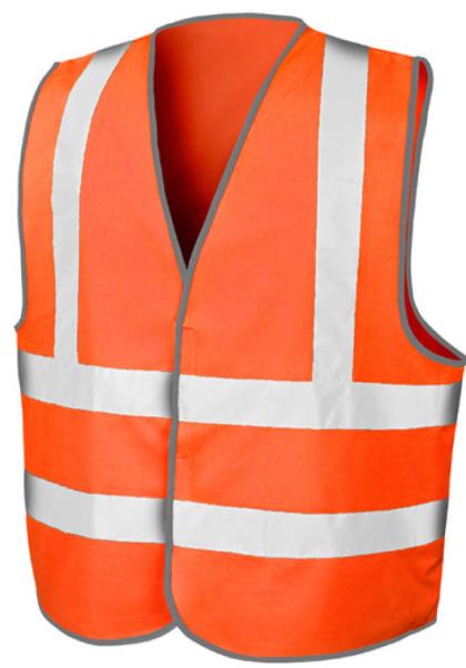 RT201 Result Core Motorway Vest - für eine sichere Arbeitskleidung im Winter