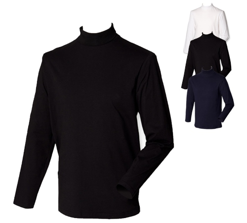 henbury-roll-neck-long-sleeve-t-shirt key-pieces-fuer-herbst-und-winter
