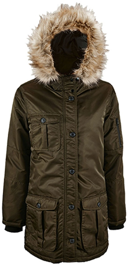 L02107 SOL´S Womens Warm And Waterproof Jacket Ryan