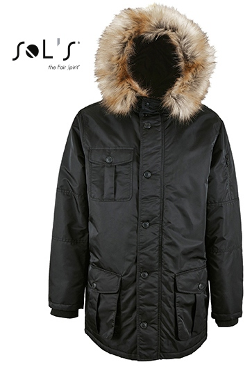 L02108 SOL´S Mens Warm and Waterproof Jacket Ryan