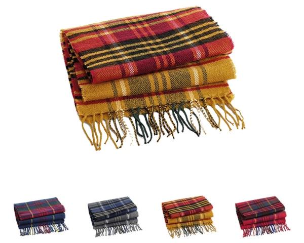 beechfield-classic-check-scarf