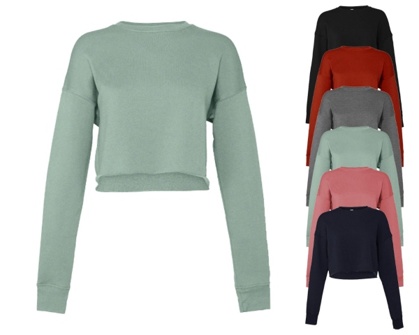 bella-women-s-cropped-crew-fleece