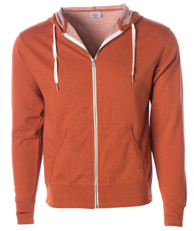 independent-unisex-midweight-french-terry-zip-hood-burnt-orange