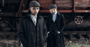 Zwei Herren in 20er Mode