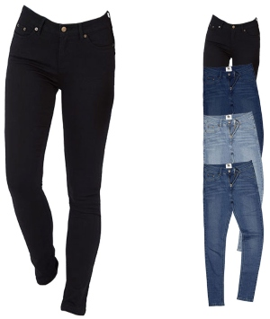 SD014 So Denim Ladies Lara Skinny Jeans