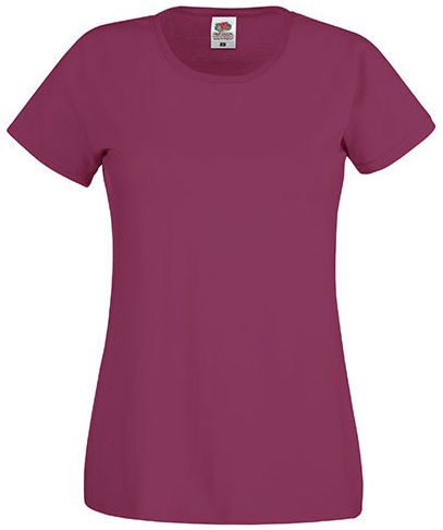 F111 Fruit of the Loom Lady-Fit Original Tee