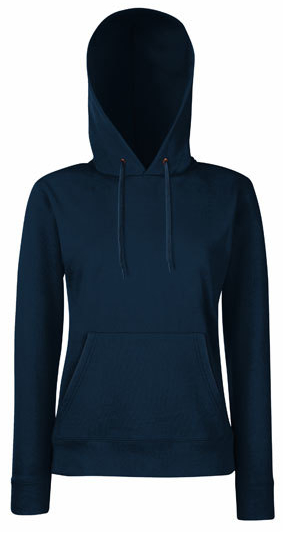 Fruit of the Loom Lady-Fit Hooded Sweat - Classic Blue Trendfarben 2020
