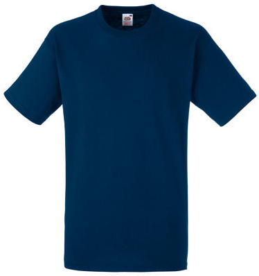 Fruit of the Loom T-Shirt Heavy Cotton T - Classic Blue Trendfarben 2020
