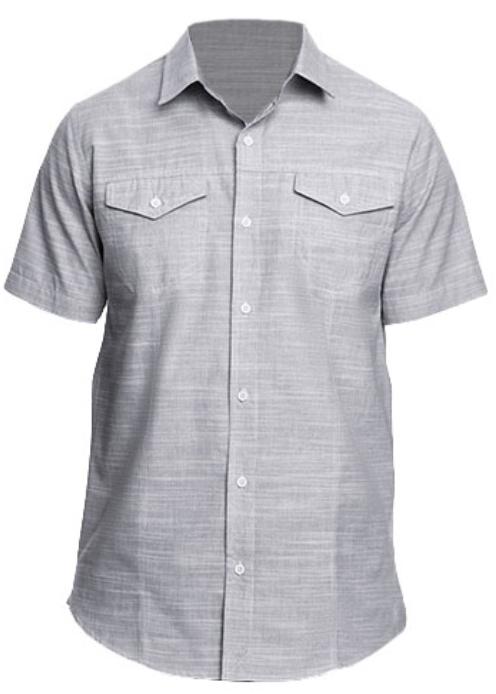 BU9247 Burnside Woven Texture Shirt