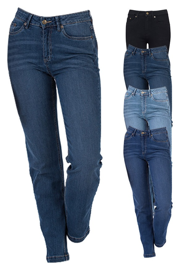 SD011 So Denim Ladies Katy Straight Jeans