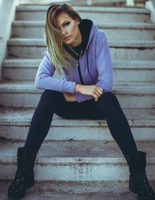 New York Street Style: Jeans in die Hose gesteckt, früher ein Fashion-Fauxpas, heute angesagter New York Street Style