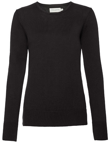 Z717F Russell Collection Ladies Crew Neck Knitted Pullover
