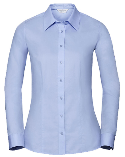 Z972F Russell Collection Ladies` Long Sleeve Tailored Coolmax® Shirt