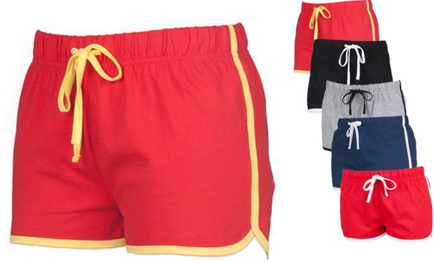 SF69 SF Women Ladies Retro Shorts